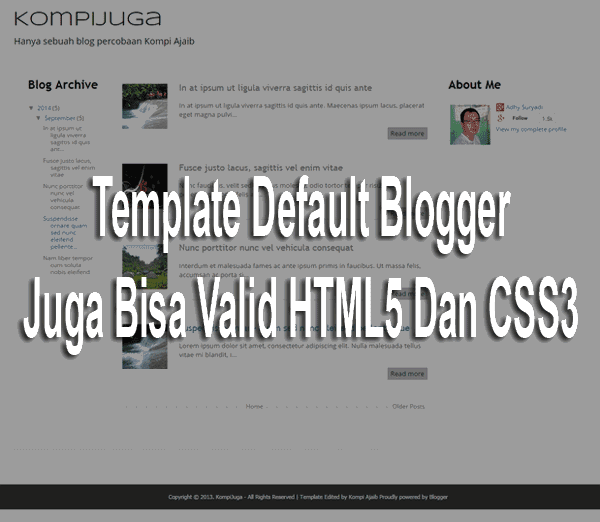 Template Default Blogger