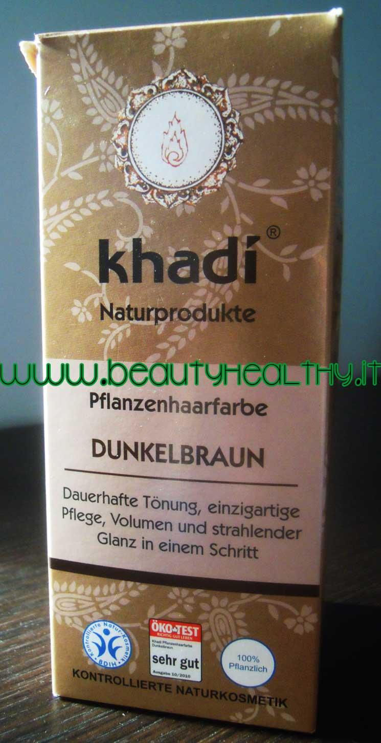 Tinta vegetale Khadi castano scuro e60fd6e21cc9