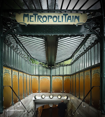 Hector Guimard, entradas art nouveau do metrô parisiense © Laura Próspero