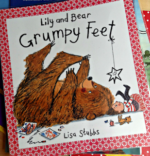 Autistic and Pregnant Lily And Bear Grumpy Feet Review Childrens Book Blogger