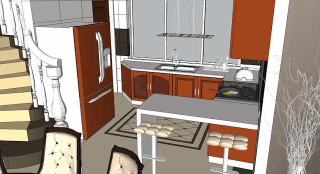 SKETCHUP TEXTURE: SKETCHUP FREE 3D MODEL INTERIOR HOME ...