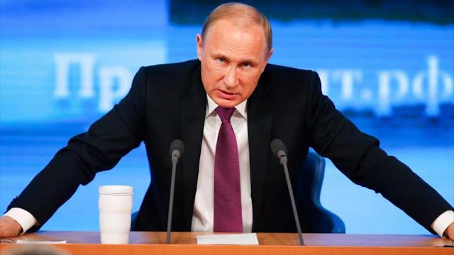 Putin a Occidente: ¡Dejen el doble rasero en la lucha antiterrorista!