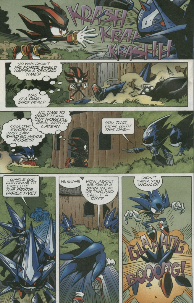 Read online Sonic The Hedgehog comic -  Issue #158 - 22