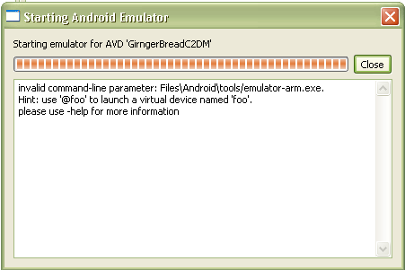 emulator android command line