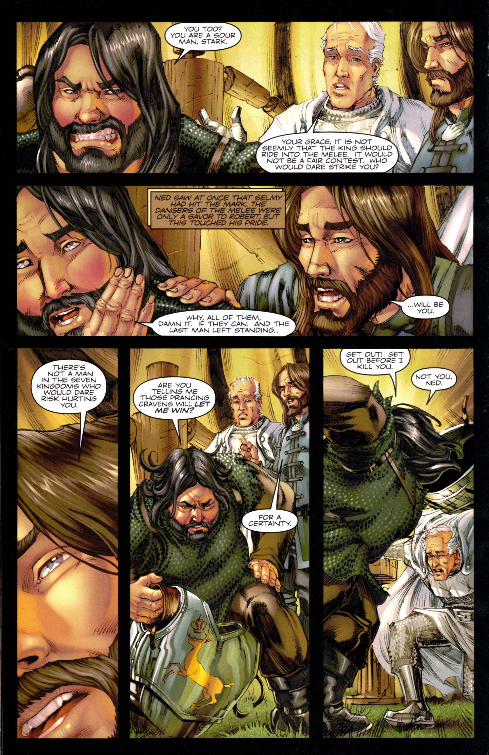 Read online A Game Of Thrones comic -  Issue #9 - 22