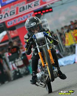 RF Drag Bike Championship Dompak Tunjukkan Gengsi Event Drag Bike Berkualitas Di Kepri