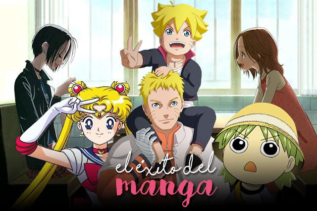 El éxito del manga