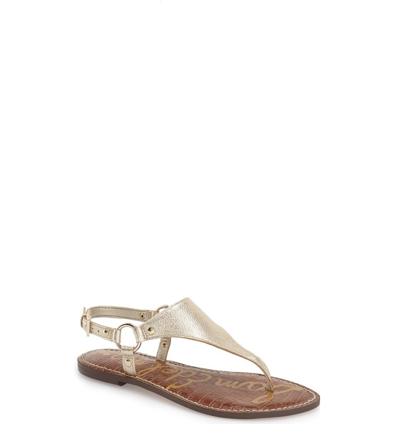 Sam Edelman t-strap sandals