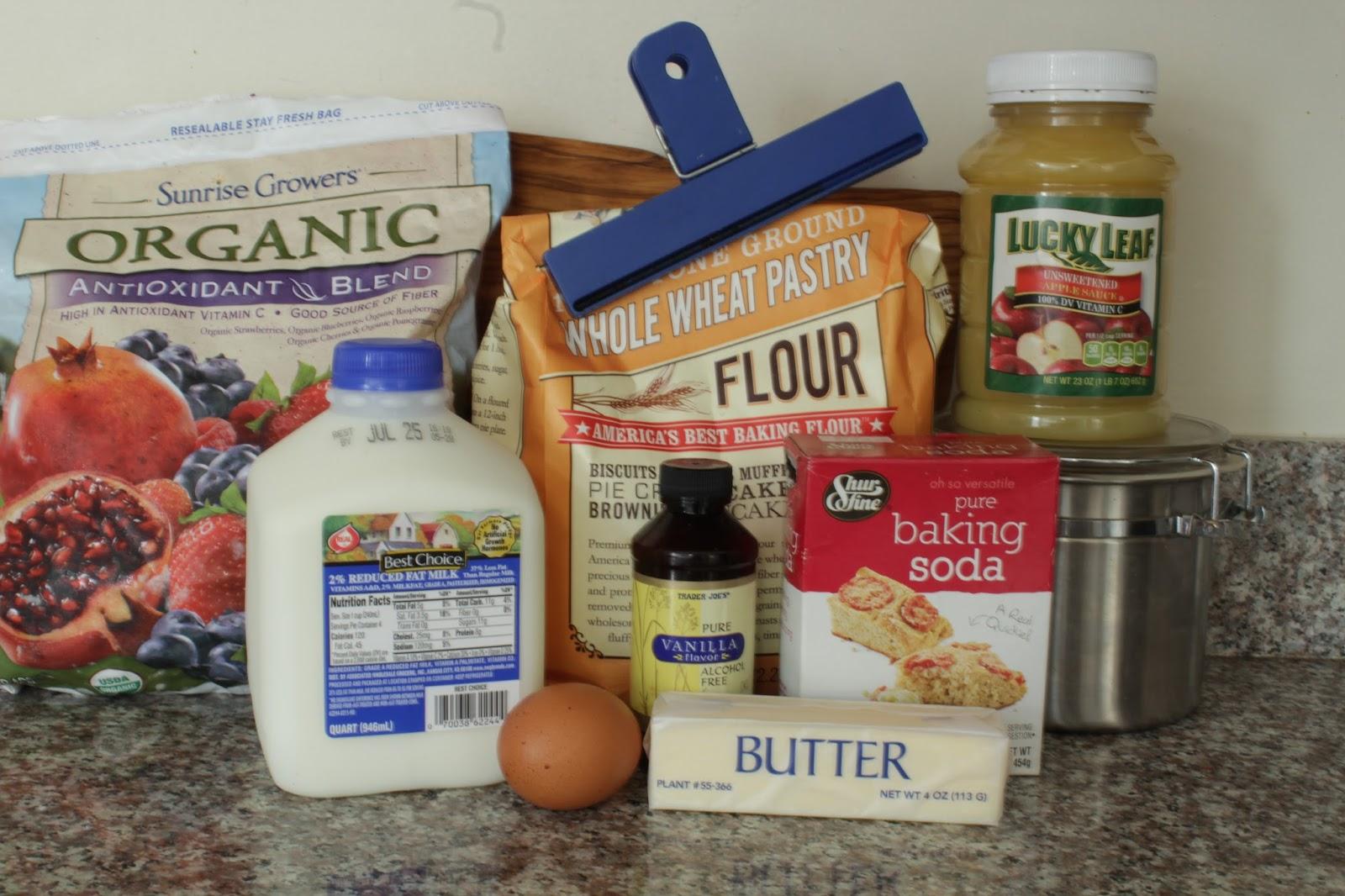 Homemade healthy whole wheat fruit breakfast bread