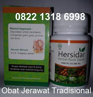 Obat jerawat alami hebal tradisional hersidar ampuh murah harganya