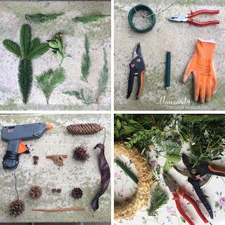 All Saints Wreath - DIY tutorial - Accessories