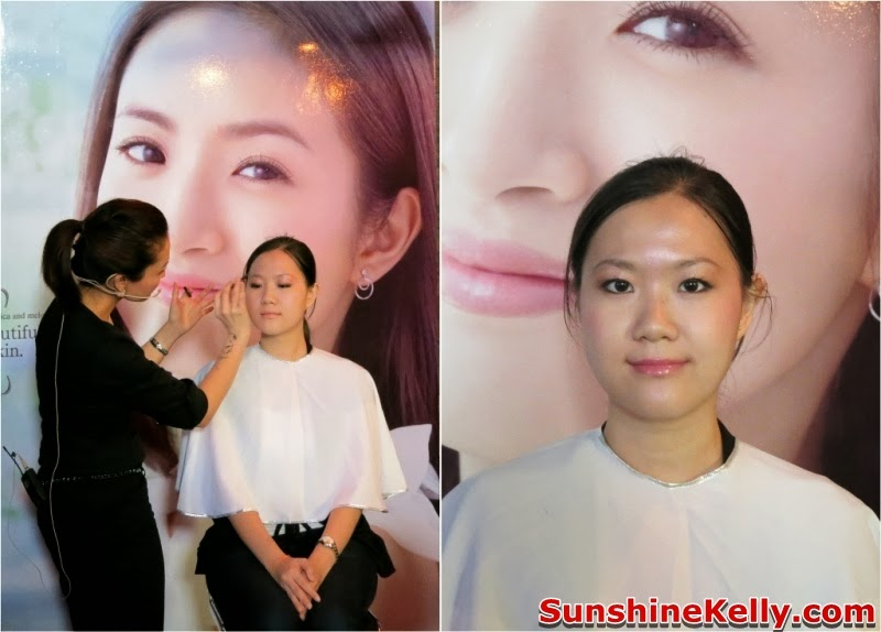 Kose  Sharp Pre CNY Beauty Workshop, cny2014, beauty workshop, kose, sharp, kose sekkisei, makeup, skincare, sekkisei makeup