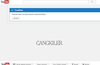 Cara Verifikasi Chanel Youtube