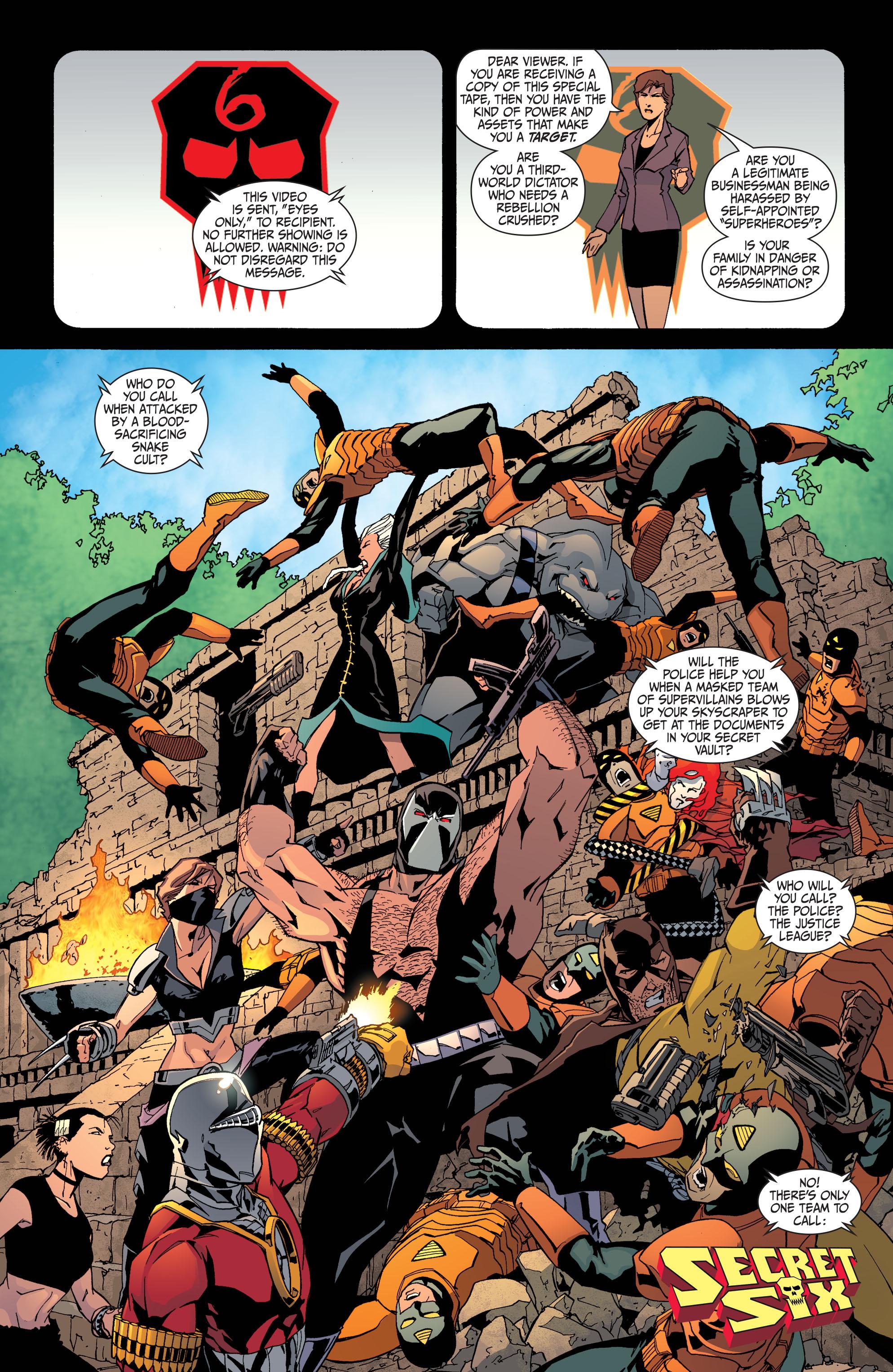 Read online Secret Six (2008) comic -  Issue #31 - 2