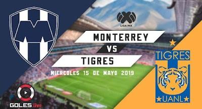 ¡Clásico es ganarte! Monterrey venció 1-0 al Tigres UANL por el partido de ida de la semifinal de la Liguilla MX Clausura 2019