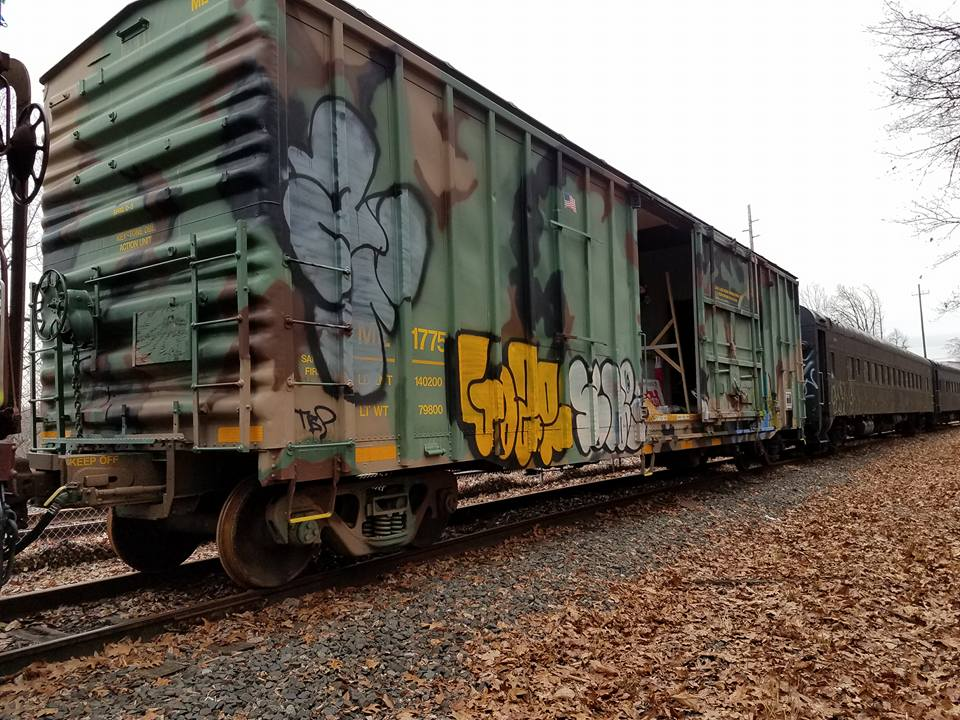 Confessions Of A Train Geek Effing Graffiti