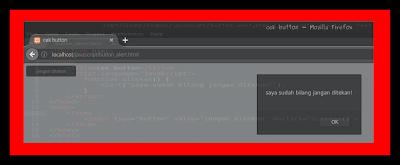 Cara Membuat Button Alert Menggunakan JavaScript
