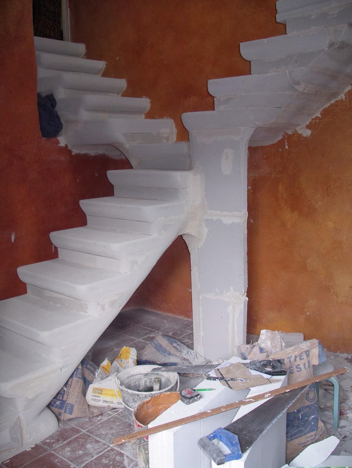 christian tournebize escalier b ton cellulaire. Black Bedroom Furniture Sets. Home Design Ideas