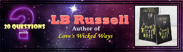 [20 Questions] LB RUSSELL @AuthorLBRussel1