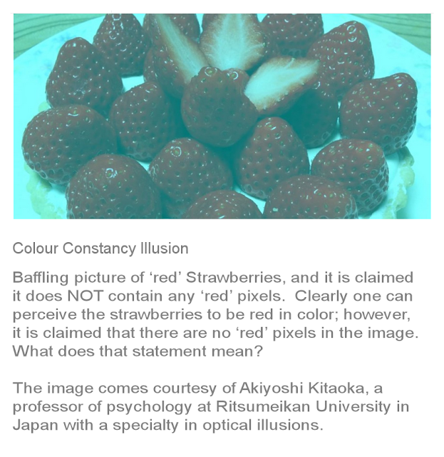 Colour Constancy Illusion
