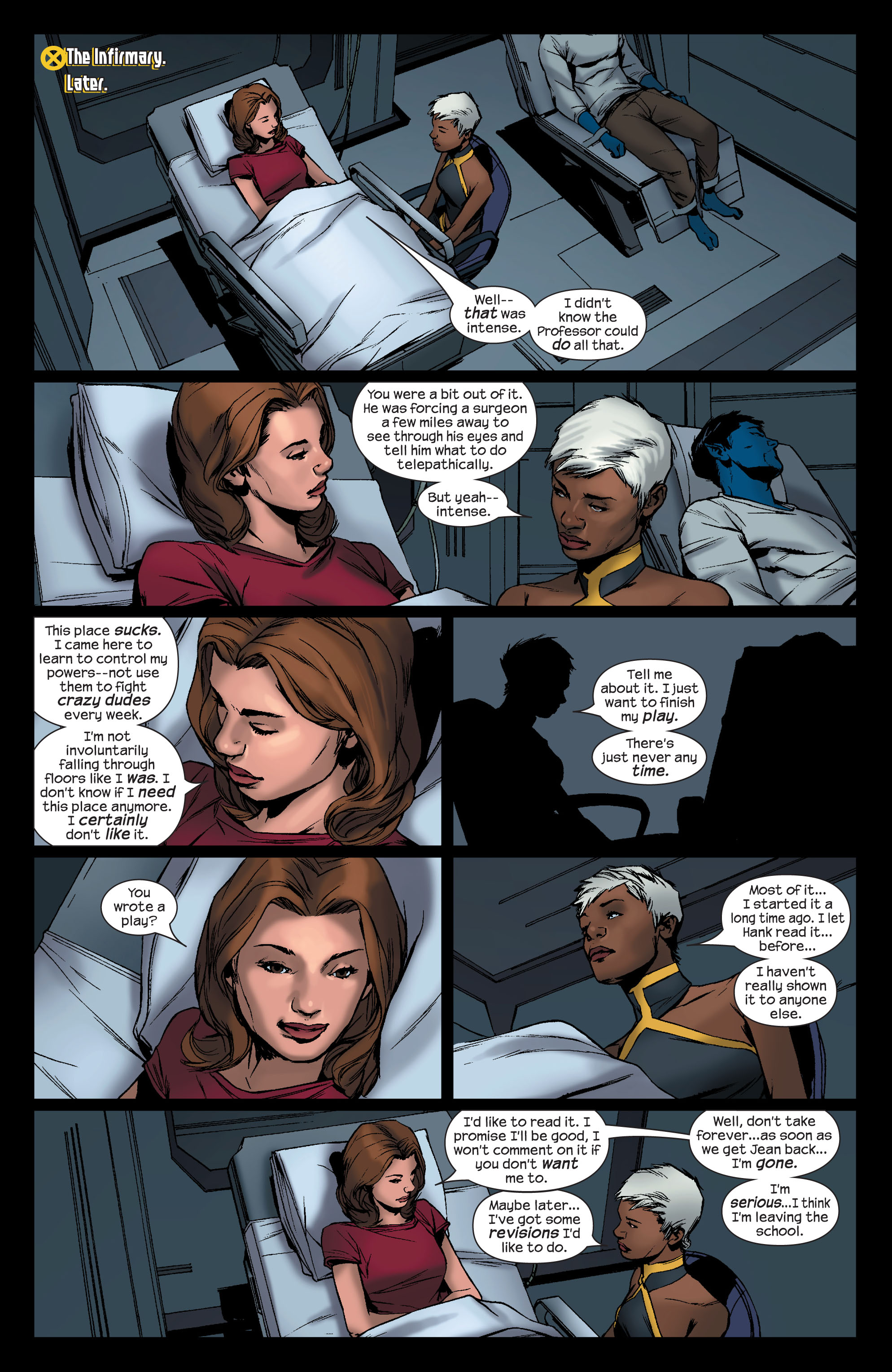 Read online Ultimate X-Men comic -  Issue #76 - 16