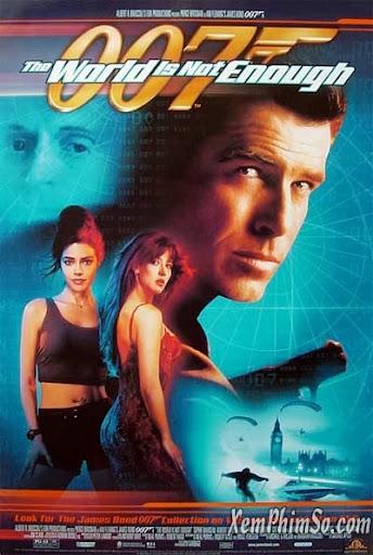 Xem Phim Điệp Viên 007: Thế Giới Không Đủ 1999