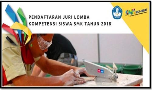 Ketentuan Pendaftaran Juri Lomba Pertandingan Siswa SMK Th. 2017/2018