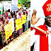 Drama As Parishioners Padlock Bishop, Others Inside Church Over Alleged Financial Impropriety