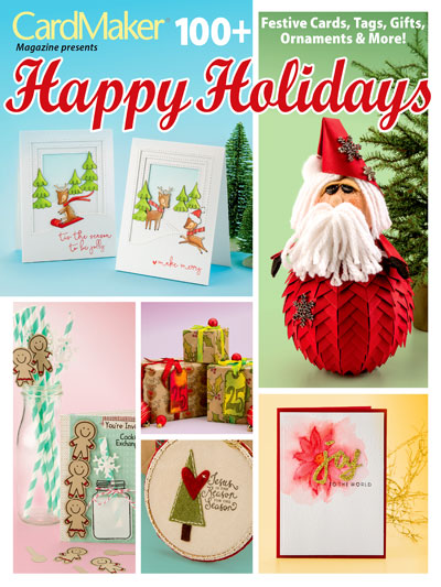 Cottage Below Holiday Cards