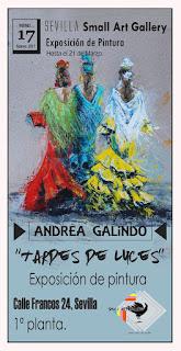 Andrea Galindo - ¡Vamos a la feria! II - Mixto (Acrílico y pastel) - Exposición 2017