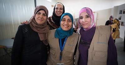 Women attending a WPHF event