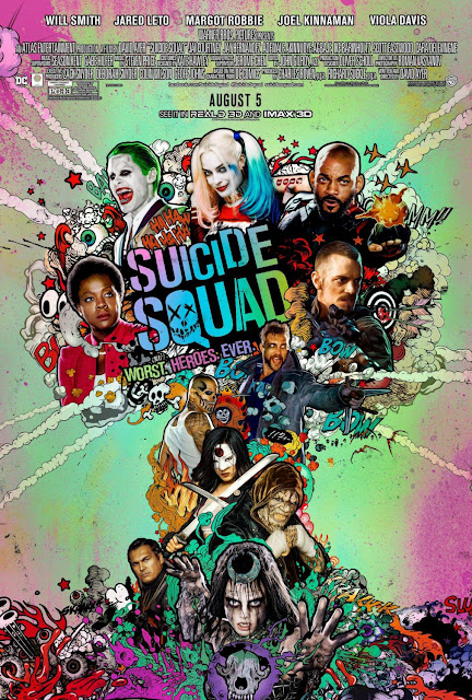 Suicide Squad Final Theatrical One Sheet Movie Poster