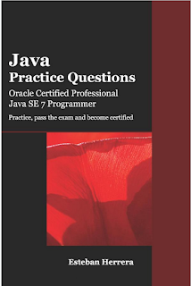 Best book for Java SE 7 Practice Questions