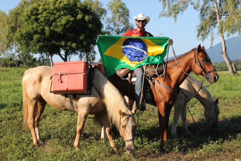 Cavaleiro das Américas se prepara para sua terceira longa jornada