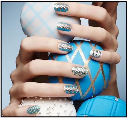 hocus.kocis: nails. dashing diva. azure allure.