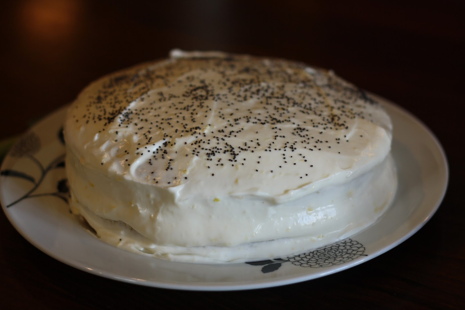 Courgette Loaf Cake With Cream Cheese Frosting
