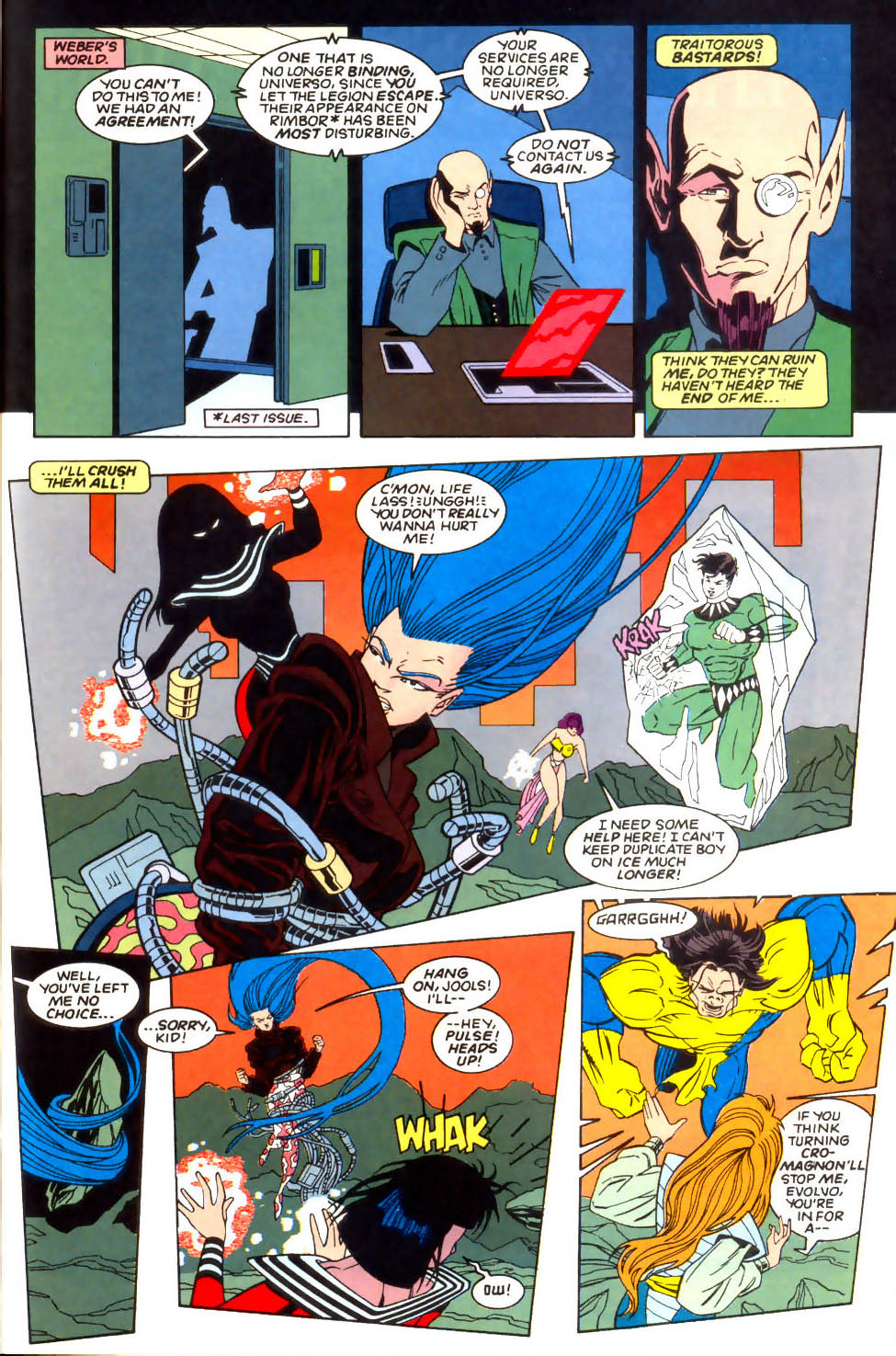 Legion of Super-Heroes (1989) 57 Page 13
