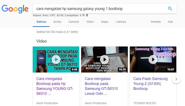 cara agar video youtube tampil di google