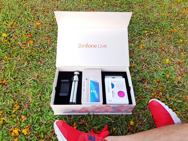 Asus Zenfone Live Review ZB501KL Unboxing