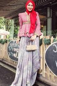 23 Model Baju Batik Kerja Dian Pelangi Modern Terbaru 2018 Keren