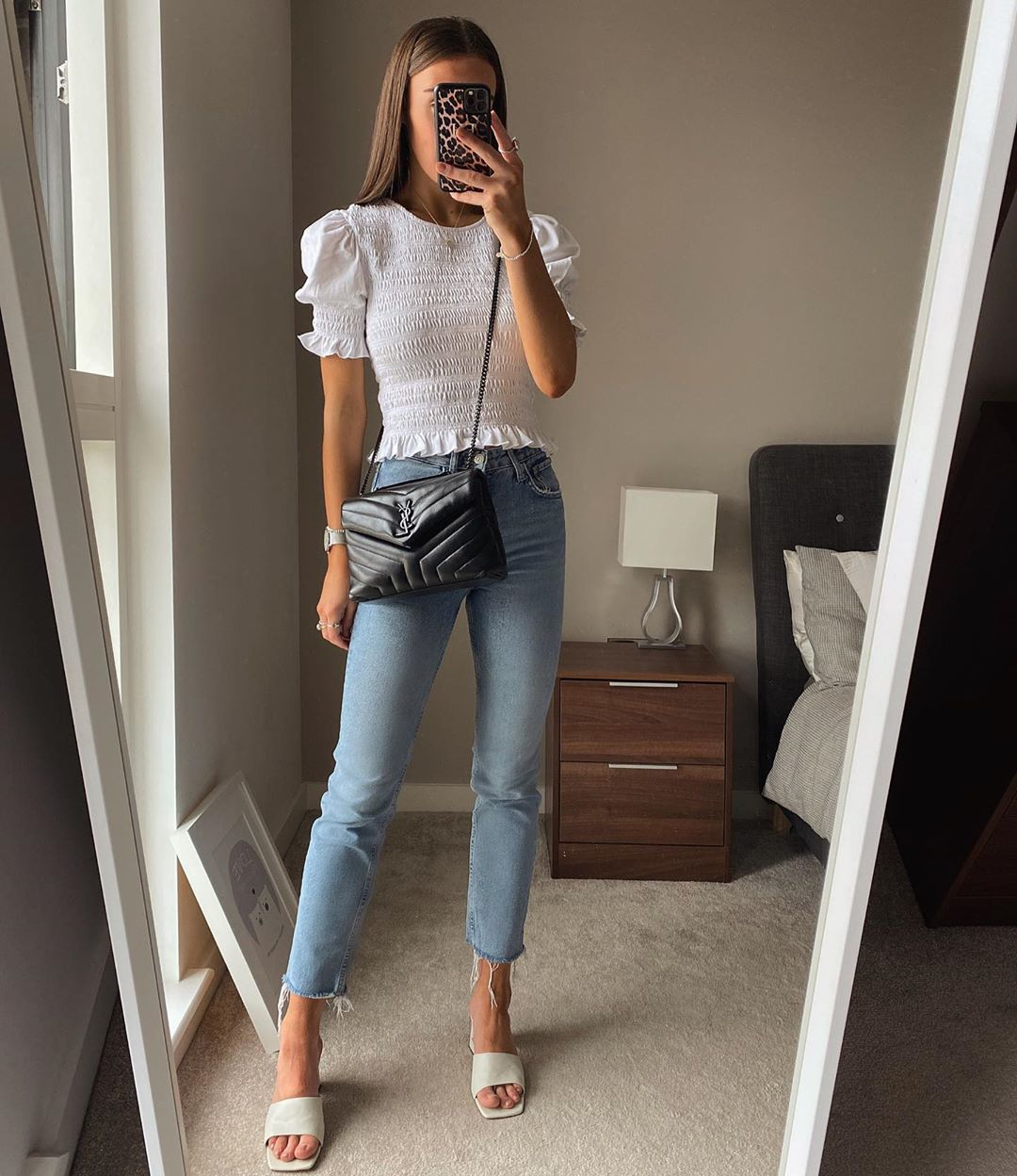 We Love This Chic Take On Jeans and a T-Shirt for Summer