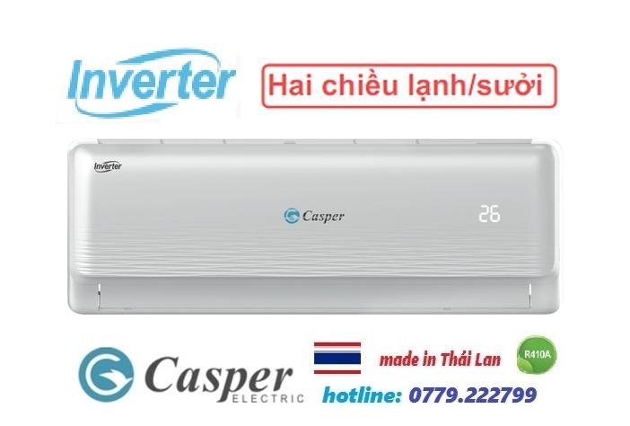 Điều hòa Casper 12000BTU 2 chiều inverter IH-12TL22