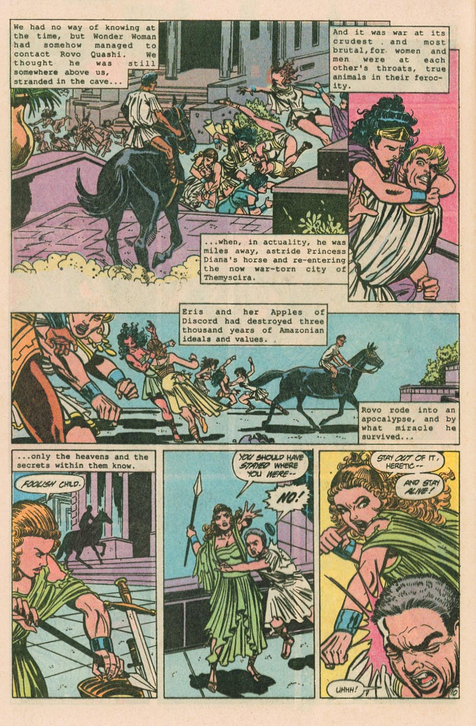 Read online Wonder Woman (1987) comic -  Issue #40 - 12