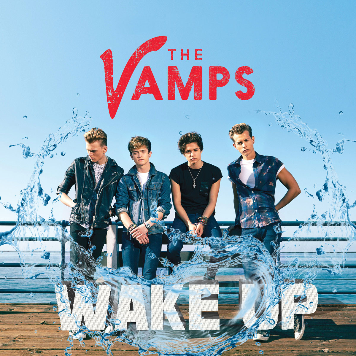 The Vamps Wake Up Water Cool