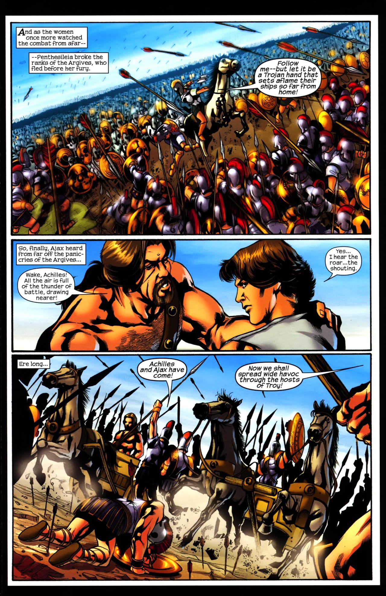 Read online Trojan War comic -  Issue #3 - 11
