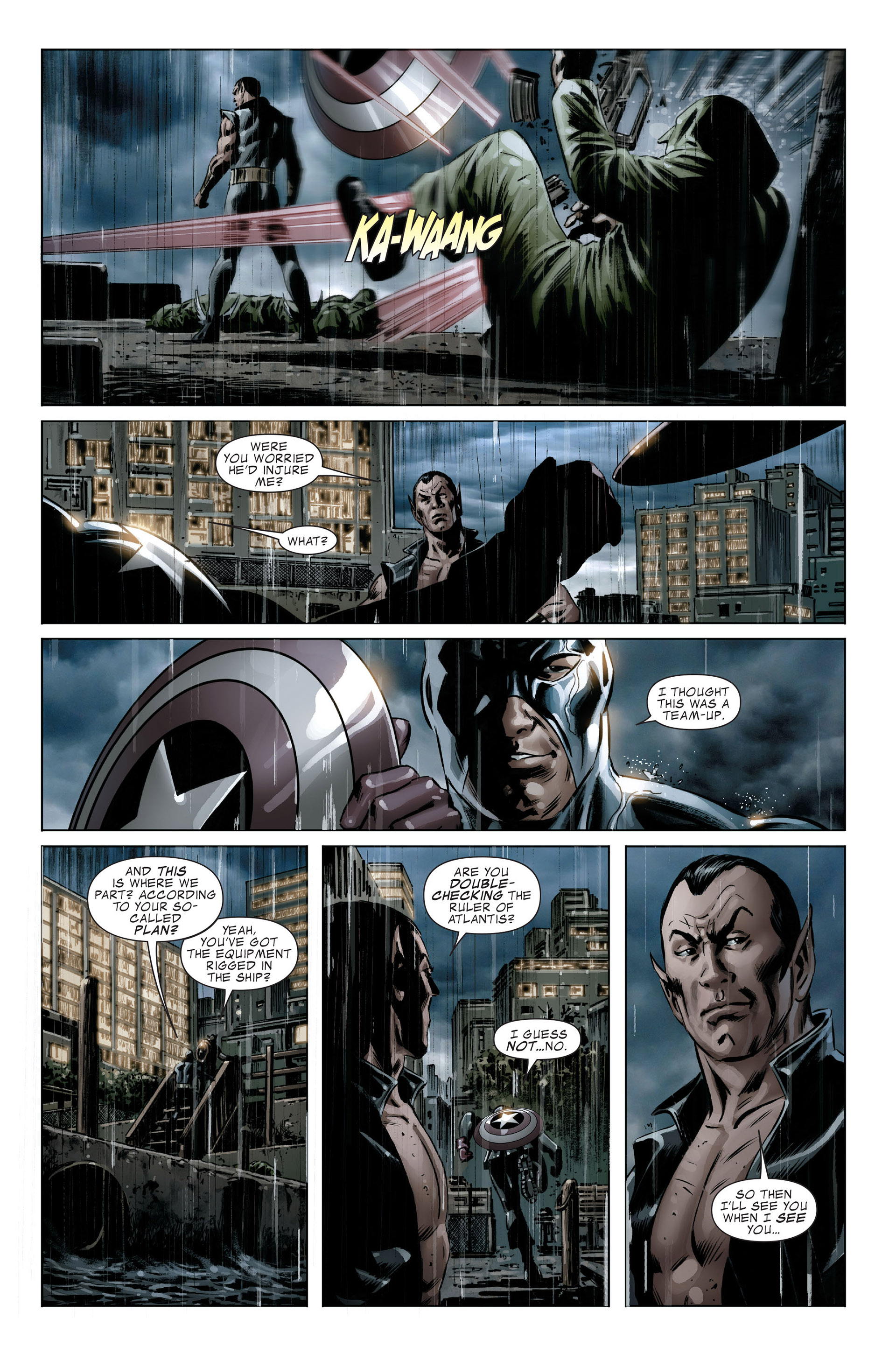 Read online Captain America (2005) comic -  Issue #46 - 18