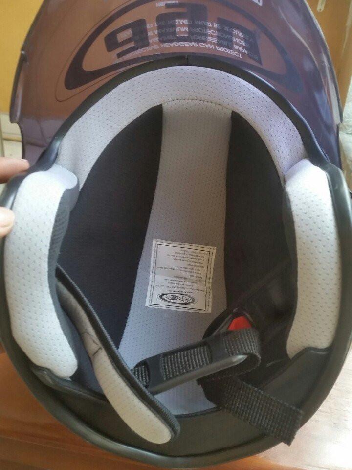 Mũ bảo hiểm phượt Mô tô AGV Made in Italy (có kính)