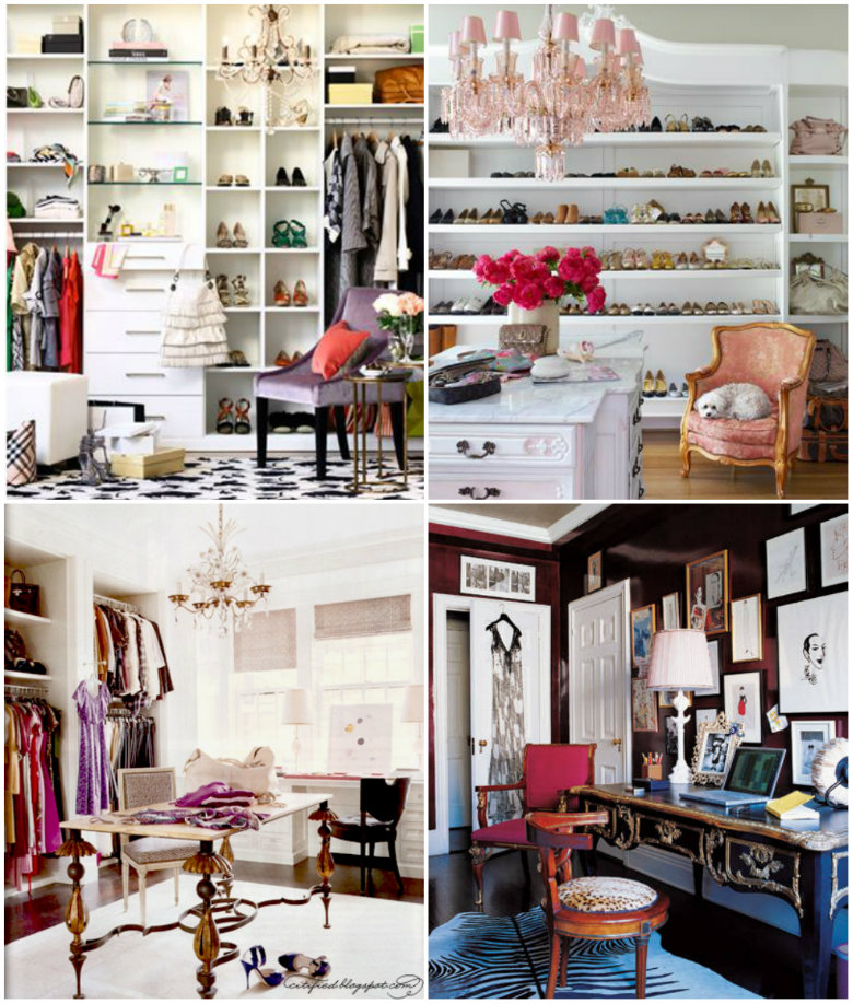 Small High Impact Decor Ideas: Hammers And High Heels: Closet-Room Decor Ideas And Junk