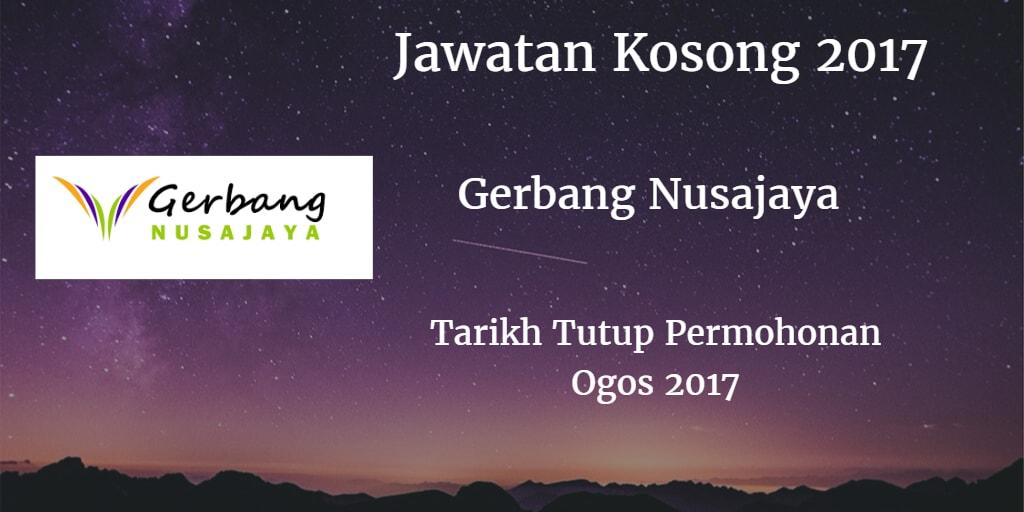 Jawatan Kosong Gerbang Nusajaya Group Ogos 2017