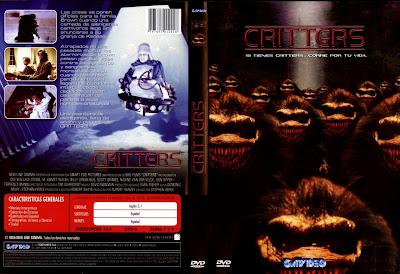 Cover, dvd, carátula: Critters 1 | 1986 | la primera